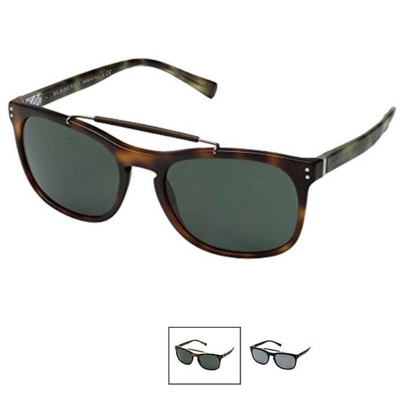 a30feca44eb New Burberry Matte Light Havana Sunglasses